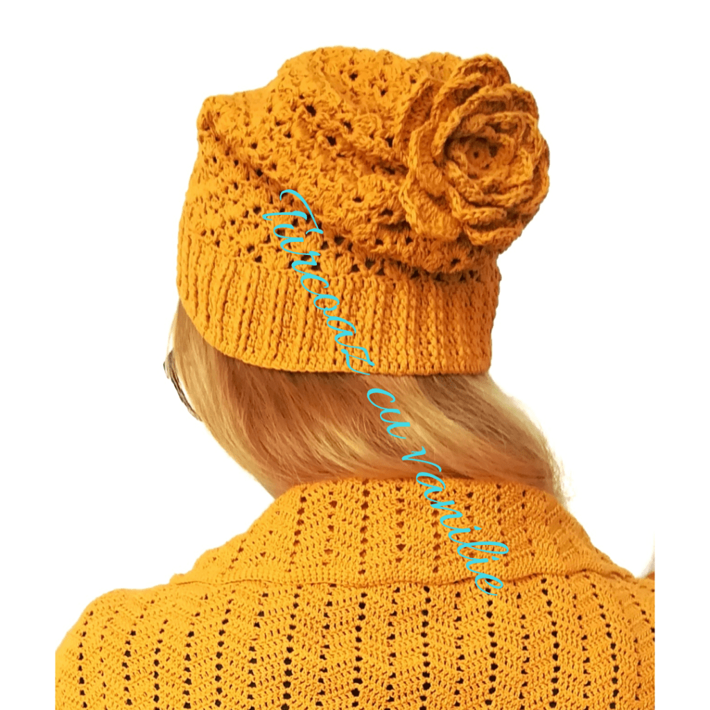 Reach results on Google's SERP when searching for crochet hat, slouchy hat, crochet lace hat