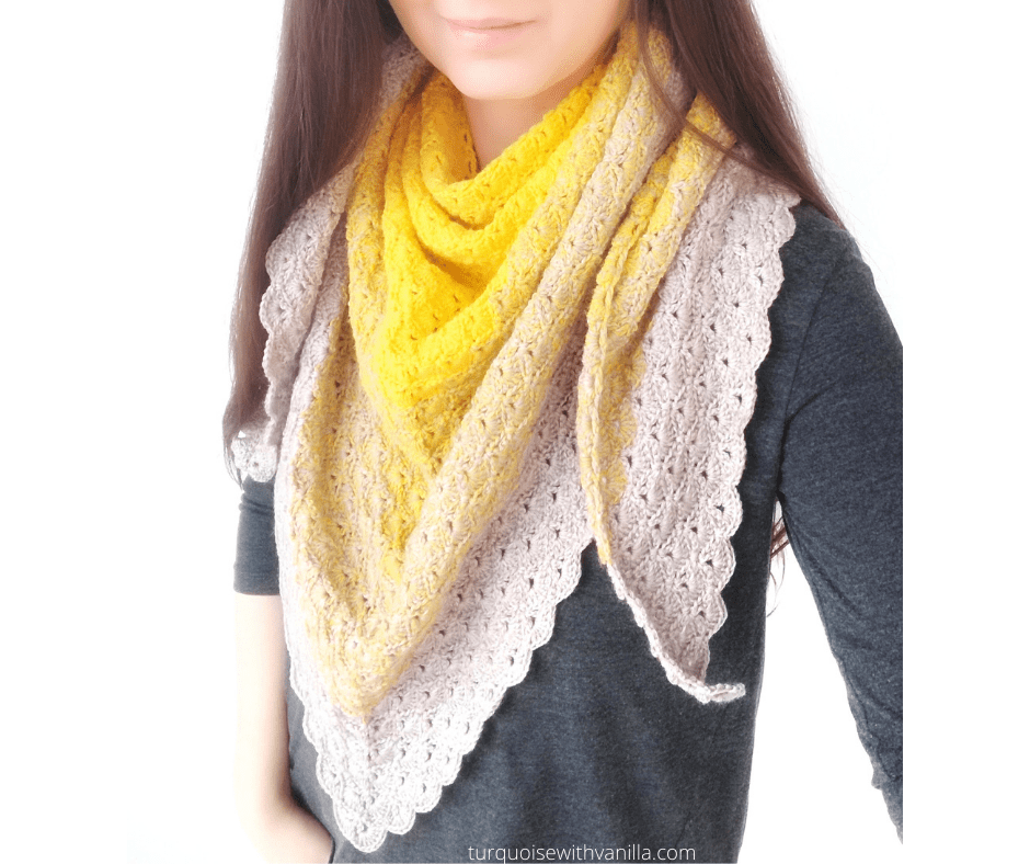Reach results on Google's SERP when searching for crochet scarf, shawl, wrap