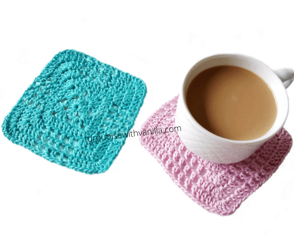 Reach results on Google's SERP when searching for crochet coasters, granny squares